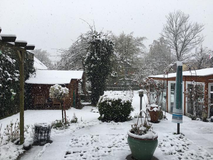 Schnee Bruegge